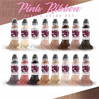World Famous Ink PINK RIBBON SET 1 oz