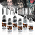 World Famous Tattoo Ink THOMAS CARLI JARLIER NOIRE INK SET (1 oz)