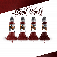 World Famous Ink BIG JOEL'S BLOOD WORKS SET