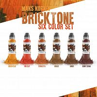 World Famous Ink MAK'S KORNEV BRICK TONE 6 BOTTLE SET
