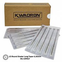 RS LT - Иглы Kwadron Round Shader Long Taper