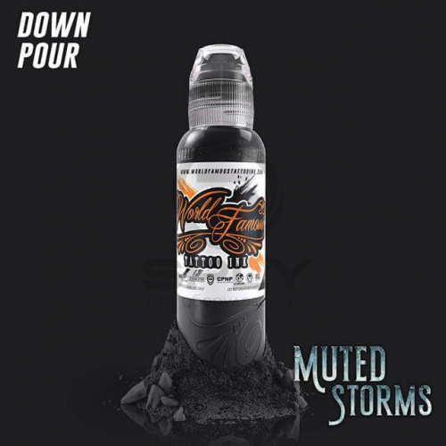 Пигмент World Famous WFI Down Pour (POCH MUTED STORM SET)