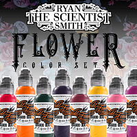World Famous Ink RYAN SMITH - FLOWER SET - 8шт