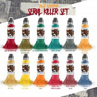 World Famous Ink JASON ACKERMAN SERIAL KILLER SET 1 oz