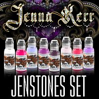 World Famous Ink JENNA KERR'S JENSTONES COLOR SET