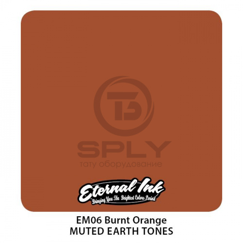 Пигмент BURNT ORANGE - Muted Earth Tone Set - Eternal фото 2