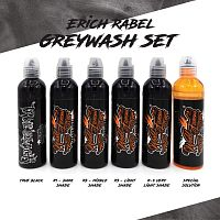 World Famous Ink ERICH RABEL GREYWASH SHADING SET 4 oz
