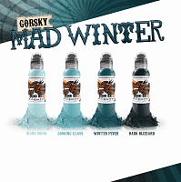 World Famous Ink GORSKY MAD WINTER SET 4 BOTTLES