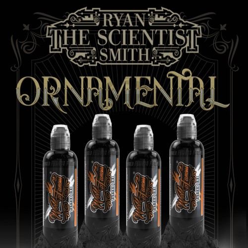 World Famous Ink RYAN SMITH - The Scientist - Ornamental