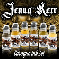 World Famous Ink JENNA KERR'S BAROQUE COLOR SET